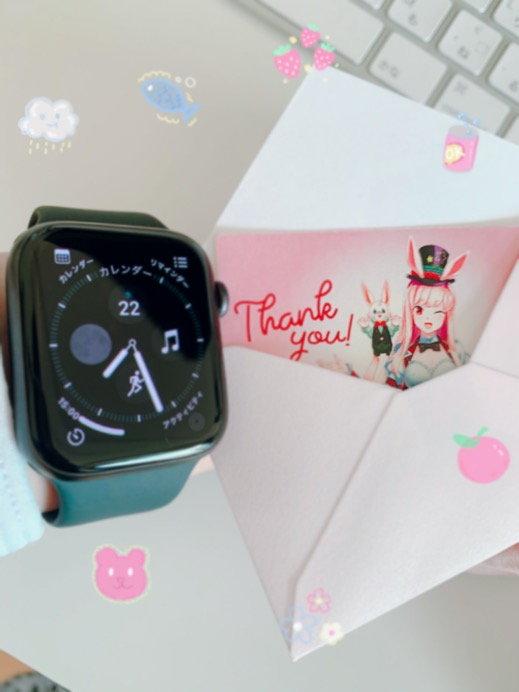 Apple Watch series5とミスティーノお手紙
