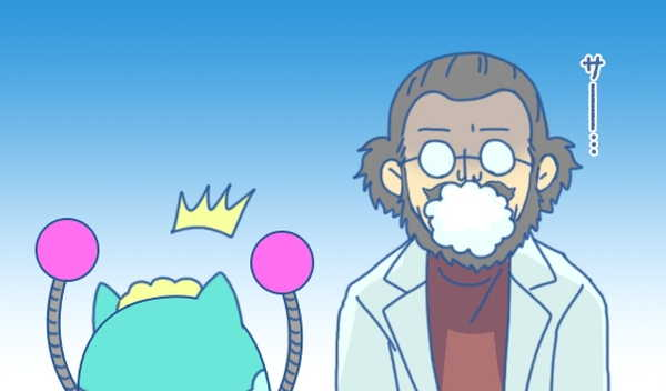 泡を吹くモーロック博士