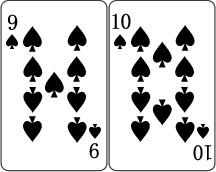 9と10のカード