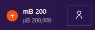 200mBTC入金