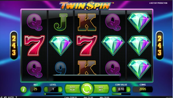 twin spinスロット