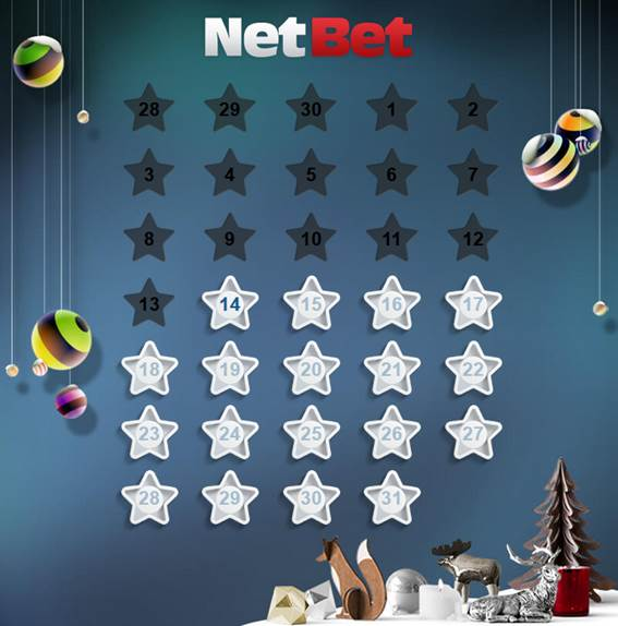 ネットベットクリスマスカレンダー